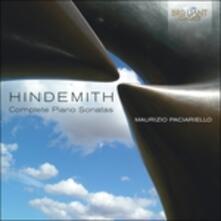 Sonate per pianoforte (Integrale) - CD Audio di Paul Hindemith