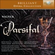 Parsifal - CD Audio di Richard Wagner,René Kollo,Theo Adam,Gisela Schröter,Herbert Kegel,Radio Symphony Orchestra Lipsia,Ulrik Cold