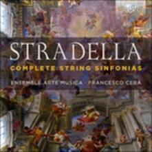 Sinfonie per archi (Integrale) - CD Audio di Alessandro Stradella