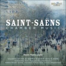 Musica da camera - CD Audio di Camille Saint-Saëns,Akanè Makita