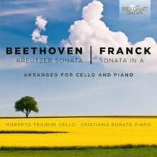 Sonata Kreutzer / Sonata in La - CD Audio di Ludwig van Beethoven,César Franck