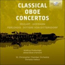 Concerti per oboe - CD Audio di Wolfgang Amadeus Mozart,Karl Ditters Von Dittersdorf,Giuseppe Ferlendis,Heinrich Hofmann