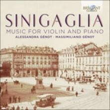 Opere per violino e pianoforte - CD Audio di Leone Sinigaglia