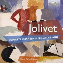 Musica completa per pianoforte - CD Audio di André Jolivet