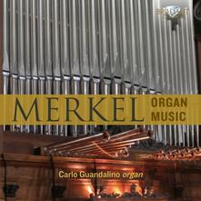 Musica per organo - CD Audio di Carlo Guandalino,Gustav Adolf Merkel
