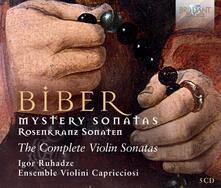 Sonate del Rosario complete - Sonata per violino solo (Box Set) - CD Audio di Heinrich Ignaz Franz Von Biber,Ensemble Violini Capricciosi