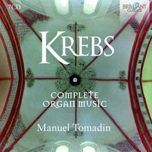 Musica per organo completa - CD Audio di Johann Ludwig Krebs,Manuel Tomadin