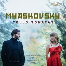 Sonate per violoncello - CD Audio di Nikolai Yakovlevich Myaskovsky