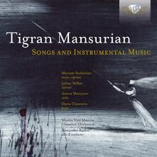 Songs and Instrumental Music - CD Audio di Tigran Mansurian