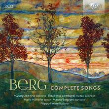 Lieder completi - CD Audio di Alban Berg
