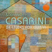 24 studi per chitarra - CD Audio di Adriano Sebastiani,Stefano Casarini