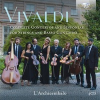 VIVALDI COMPLETE CONCERTOS AND SINFONIAS