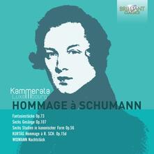 Hommage À Schumann - CD Audio di Robert Schumann,György Kurtag,Jörg Widmann