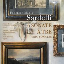 6 Sonate a tre - CD Audio di Federico Maria Sardelli