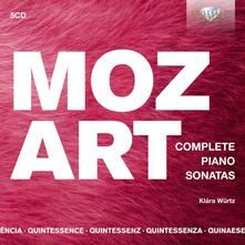 Sonate per pianoforte complete - Quintessence - CD Audio di Wolfgang Amadeus Mozart,Klara Würtz