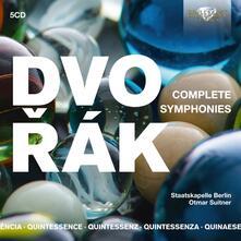 Sinfonie complete - Quintessence - CD Audio di Antonin Dvorak,Otmar Suitner