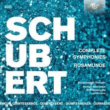 Sinfonie complete - Rosamunde - Quintessence - CD Audio di Franz Schubert