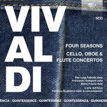 Le 4 Stagioni - Concerti - Quintessence - CD Audio di Antonio Vivaldi,Federico Guglielmo
