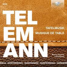 Tafelmusik - Quintessence - CD Audio di Georg Philipp Telemann,Pieter-Jan Belder