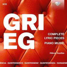 Pezzi lirici completi - Quintessence - CD Audio di Edvard Grieg,Hakon Austbo