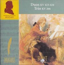 Duos & Trio - CD Audio di Wolfgang Amadeus Mozart