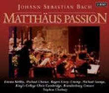 La Passione secondo Matteo - CD Audio di Johann Sebastian Bach,King's College Choir,Stephen Cleobury,Brandeburg Consort