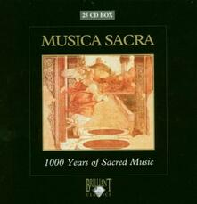 Musica sacra. 1000 Years of Sacred Music (Box Set) - CD Audio