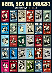 Poster Retro Spoofs. Collage