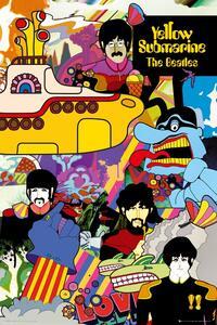 Poster Yellow Submarine Beatles 61x91,5 cm.