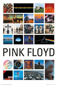 Poster Pink Floyd. Collage 2 61x91,5 cm.