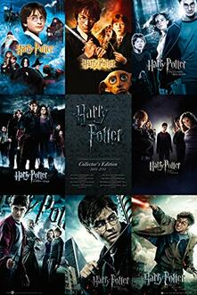 Poster Harry Potter. Collection 61x91,5 cm.