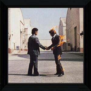 Foto In Cornice Pink Floyd. Wish You Were Here
