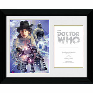 Foto in Cornice Doctor Who. 4th Doctor Tom Baker