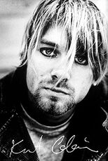 Idee regalo Poster Kurt Cobain. Signature 61x91,5 cm. GB Eye