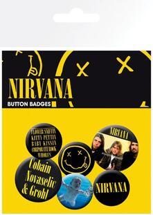 Badge Pack Nirvana. Smiley