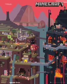 Poster Minecraft. World 40x50 cm.