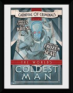 Stampa In Cornice 30x40 cm. Batman Comic. Circus Coldest Man