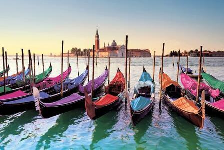 Poster Venice. Gondolas 61x91,5 cm.
