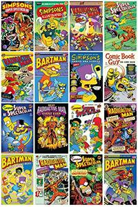 Poster Comic Covers Simpsons 61x91,5 cm.
