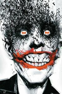 Poster Batman Comic. Joker Bats 61x91,5 cm.