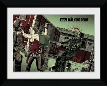 Foto in cornice Walking Dead. Maggie Glen