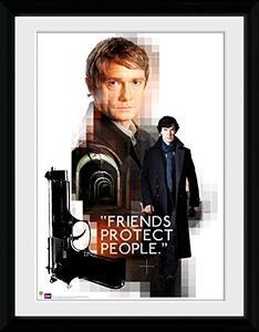 Foto in cornice Sherlock. Friends Protect