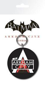 Portachiavi in Gomma Batman Arkham City. Logo