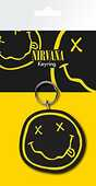 Idee regalo Portachiavi Nirvana. Smiley in Gomma GB Eye