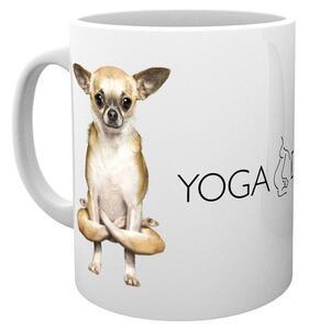 Tazza Yoga. Dogs Folded Legs