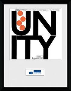 Foto in cornice Blue Note. Unity