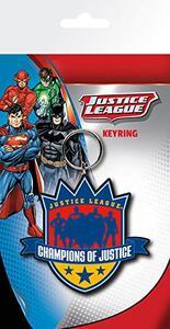Portachiavi DC Comics. Justice League Champions in Gomma