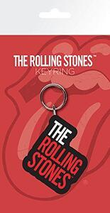 Portachiavi in Gomma The Rolling Stones. Logo
