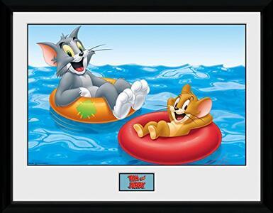 Foto in cornice Tom & Jerry. Floats