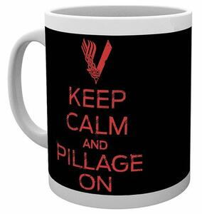 Tazza Vikings. Keep Calm and Pillage On